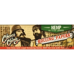Cheech and Chong Hemp Rolling Papers 1 1/4