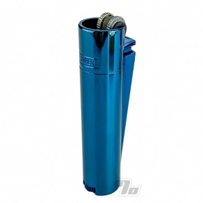 Clipper Lighter All Metal Icy Blue