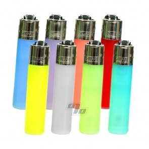 Clipper Lighters Mini with Translucent colors