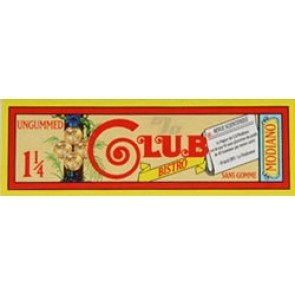Club Bistro Rolling Papers