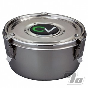 Cvault Herb Storage large stainless steel