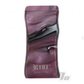 RYOT Acrylic Dugout in Purple and White