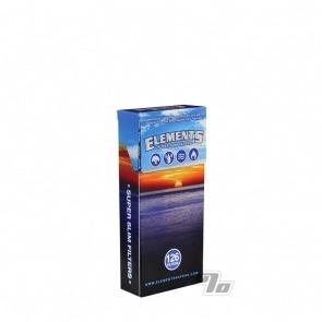 Elements Super Slim Cigarette Filters 126 pack