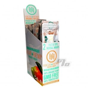 High Hemp Organic Mango Blunt Wraps