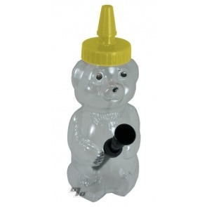 Honey Bear Pipe in Yellow