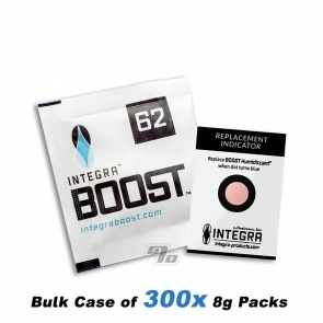 Integra Boost 62% 2-Way Humidity Regulator 8 gram case of 300 packs