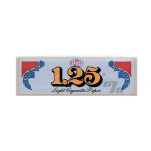 Job 1.25 Silver Rolling Papers