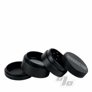 Kannastor 1.5in Herb Grinder Sifter in Matte Black