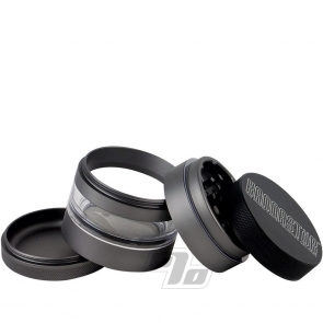 Kannastor 2.2in Grinder/Jar Gunmetal 4pc