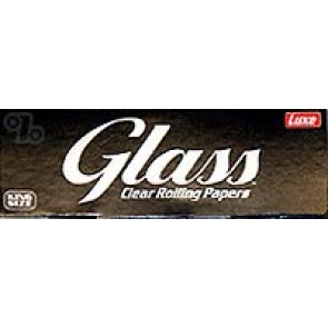 Glass Transparent King Size Rolling Papers 3