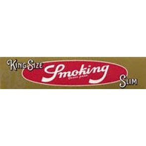 Smoking King Size Gold Slim Rolling Papers