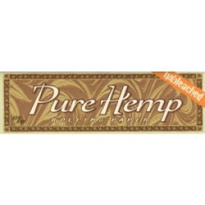 Pure Hemp Unbleached Single Wide Rolling Papers