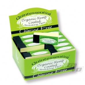 Quintessential Hemp rolling tips box of 50 packs
