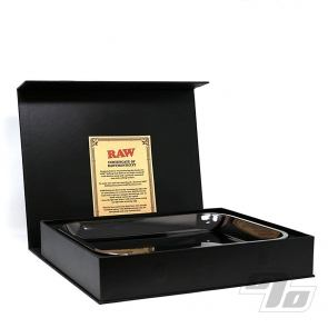 RAW Black Gold Rolling Tray
