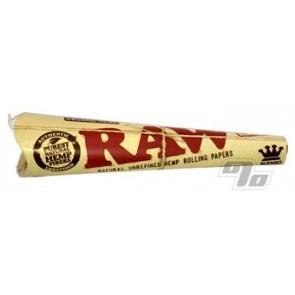 RAW Organic Hemp King Size Cones Pre-Rolled Rolling Paper