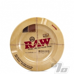 RAW Magnetic Metal Ashtray from RAW Rolling Papers