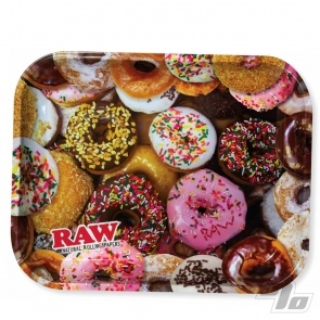 Donuts Rolling tray from RAW Rolling Papers