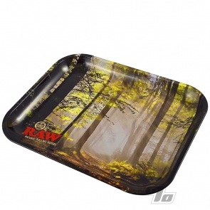RAW Smokey Trees Rolling Tray