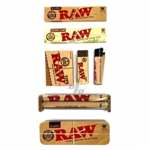 RAW King Size Rolling Papers Bundle