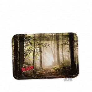 RAW Smokey Trees Mini Rolling Tray