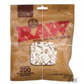 RAW Slim Cotton Cigarette Filters