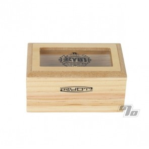 Glass Top 3x5 Pollen Box - Natural
