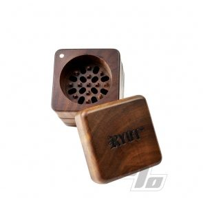 RYOT All Wood GR8TR Herb Grinder/Sifter