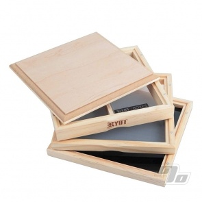 RYOT Dual Screen Solid Top 7x7 Pollen Box open sifter