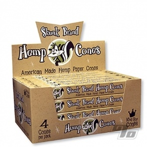 Skunk Organic Hemp Cones King Size 4 pack