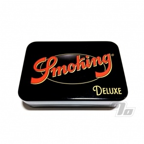 Smoking Deluxe Black Rolling Tin