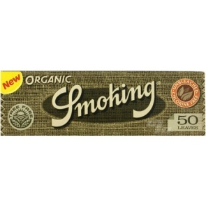 Smoking Organic Hemp Rolling Papers