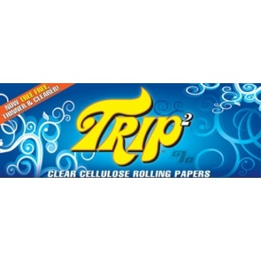 Trip Transparent King Size Rolling Papers