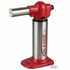 Blazer Big Buddy Torch in Red and Stainless