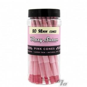 Blazy Susan 98mm Pre Rolled Cones 50 Pack