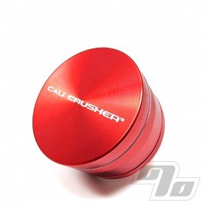"Cali Crusher OG 4 Piece 2"" Herb Grinder Red"