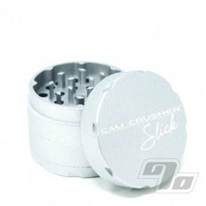 Cali Crusher OG Slick 4 Piece 2 inch Silver Herb Grinder