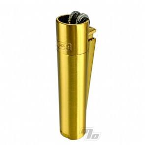 Clipper Lighter All Metal Gold