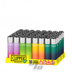Clipper Lighter Metallic Gradient 4 in Counter Tray of 48