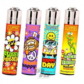 Clipper Lighters Hippie