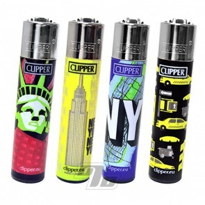 Clipper Lighters with Trip 2 designs