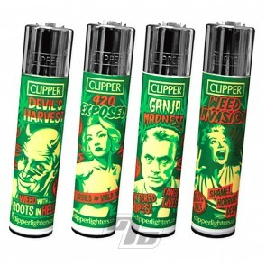 Clipper Lighters Reefer Madness