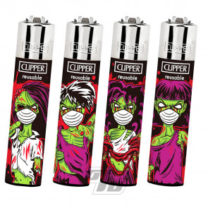 Clipper Lighters Zombie Mask