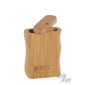 Small Bamboo Dugout w/Poker