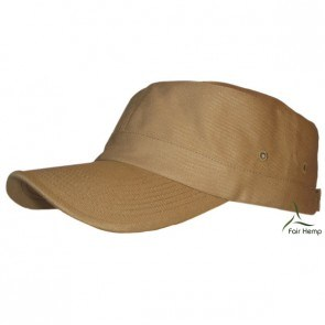 Fair Hemp Military cap in Khaki