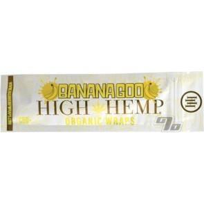 High Hemp Organic Banana Goo Hemp Blunt Wraps