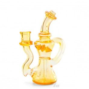 Huffy Glass Single Arm Trophy Recycler Rig in Tangie