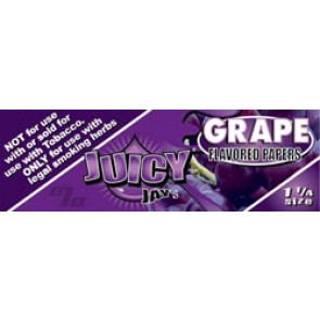 Juicy Jays Grape 1 1/4 Rolling Papers