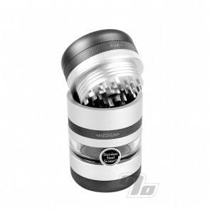 Kannastor GR8TR V2 Jar Grinder in Silver