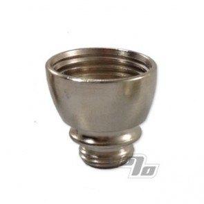 Nickel plated metal pipe bowl part