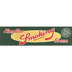 Smoking Green King Size Rolling Papers